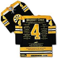 Bobby Orr Signed Gold Edition Career Jersey 1 of 4 - Boston Bruins - GNR COA