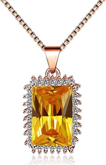 Simple Cube Sparky Cristal Bracelet Pendentif Or Argent Bijoux Pour Mariage