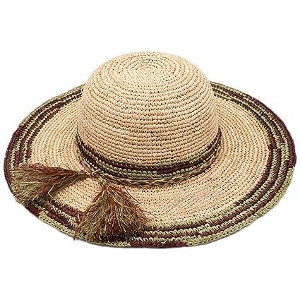 miglior grossista ultima vendita design unico Cappello estivo in paglia da donna Cappello da viaggio ...