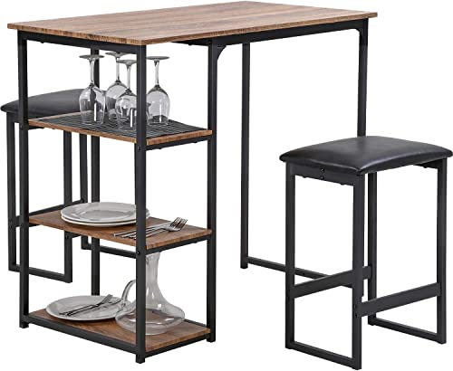 FDW Dining Table Set Dining Room Table Bar