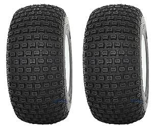 "Slasher Knobby 18x9.50-8"" Golf Cart Tires/ATV Tires - Set of 2"