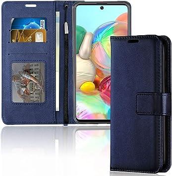TECHGEAR Funda Libro Compatible con Samsung Galaxy A71: Amazon.es: Electrónica