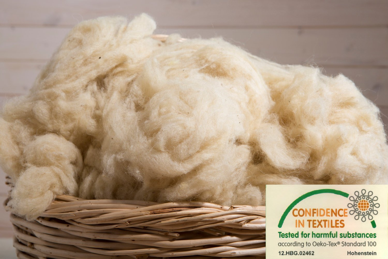 100% Natural Wool Stuffing / Washed and Carded / OEKO-TEX Certified / 2 Pounds Home Of Wool 4337013734