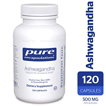 Pure Encapsulations - Ashwagandha - Supports Cardiovascular, Immune,  Cognitive, and
