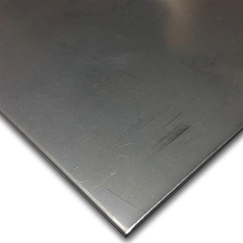 Online Metal Supply 410 Stainless Steel Sheet 0.060 x 12 x 12