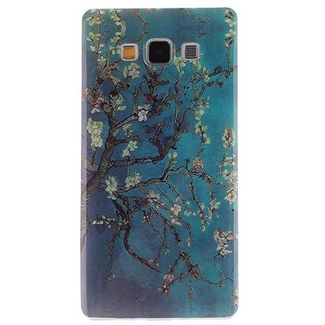 Guran® Silicona Funda Carcasa para Samsung Galaxy A3 2015 4.5