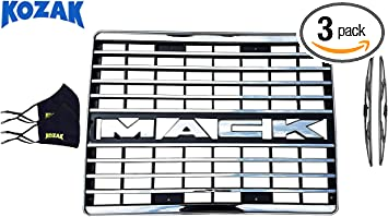 Direct OEM Replacement Mack CH Truck Chrome Grille with Emblem TR047