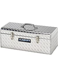 Lund/Tradesman 5124T 24-Inch Aluminum Handheld Tool Box, Diamond Plated, Silver