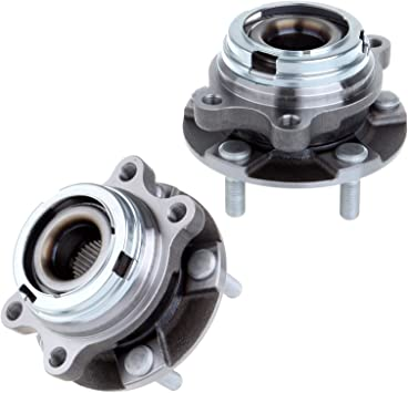 2003-2007 Murano 2-Pack//Pair HA590046 Front Wheel Hub and Bearing Assembly OE Replacement- for Nissan 2004-2009 Quest