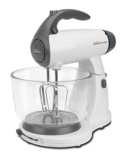 Amazon.com: Sunbeam 2371 MixMaster Stand Mixer, White: Electric ...