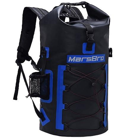 3102351335 MarsBro Waterproof Backpack Dry Bag 1000D PVC 35L 50L HF Welded Seams Roll- Top