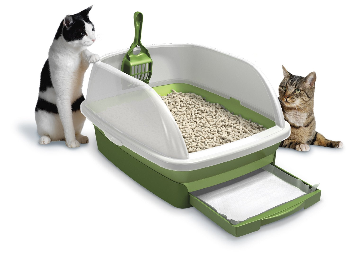 Top 10 best cat litter boxes reviews 2016 2017 on flipboard - Cat litter boxes for small spaces design ...