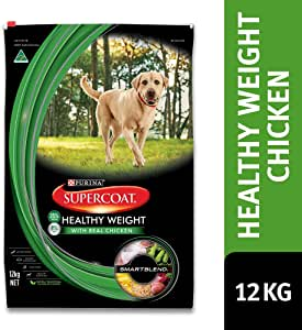 Supercoat Adult Dog Food, Healthy Weight, 12kg