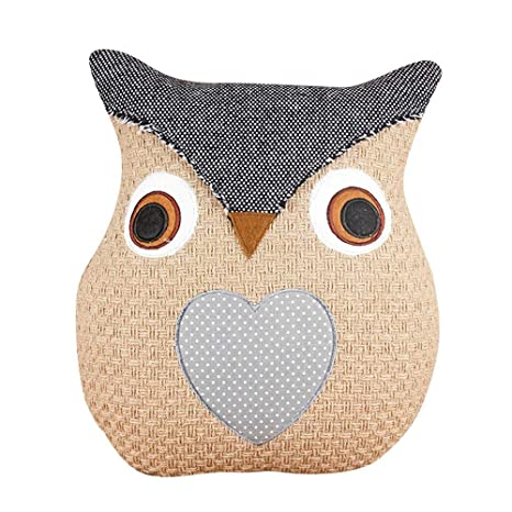 Amazon.com: Cushion - Creative 3d Cartoon Cushion Cute Owl ...