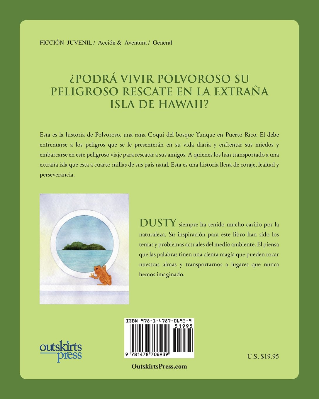 El BOSQUE DONDE LLUEVEN RANAS COQUÍ (Spanish Edition): Dusty Rhoades Heer: 9781478706939: Amazon.com: Books