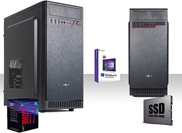 PC Desktop Gaming Saturn AMD A6 6420 K 4.0 GHz Black Edition ...