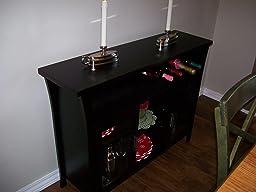 Amazon Com Kings Brand Furniture Wine Rack Buffet Server