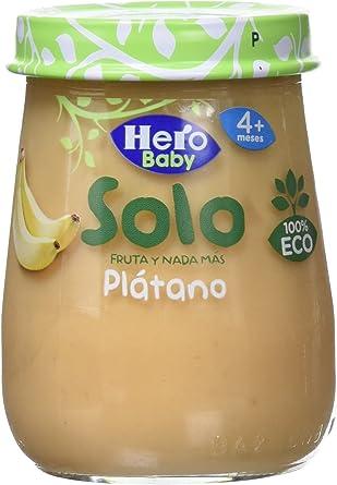 Comprar Hero Solo Tarrito Fruta Plátano Eco - 120 gr