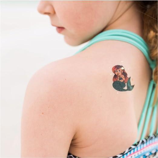 John & Judy Sirena 24 Temporal Tatuajes Mejor para Fiesta ...