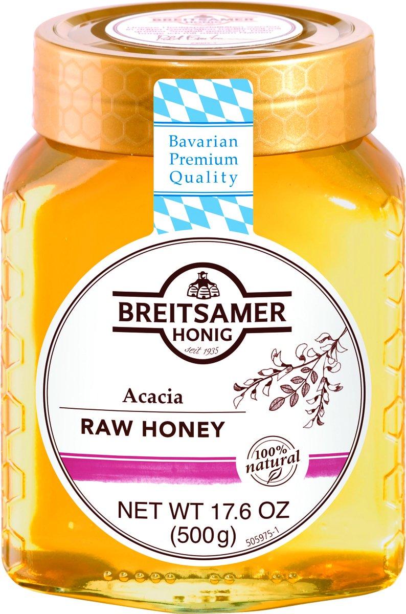 Breitsamer Honig Acacia Raw Honey, 17.6 Ounce