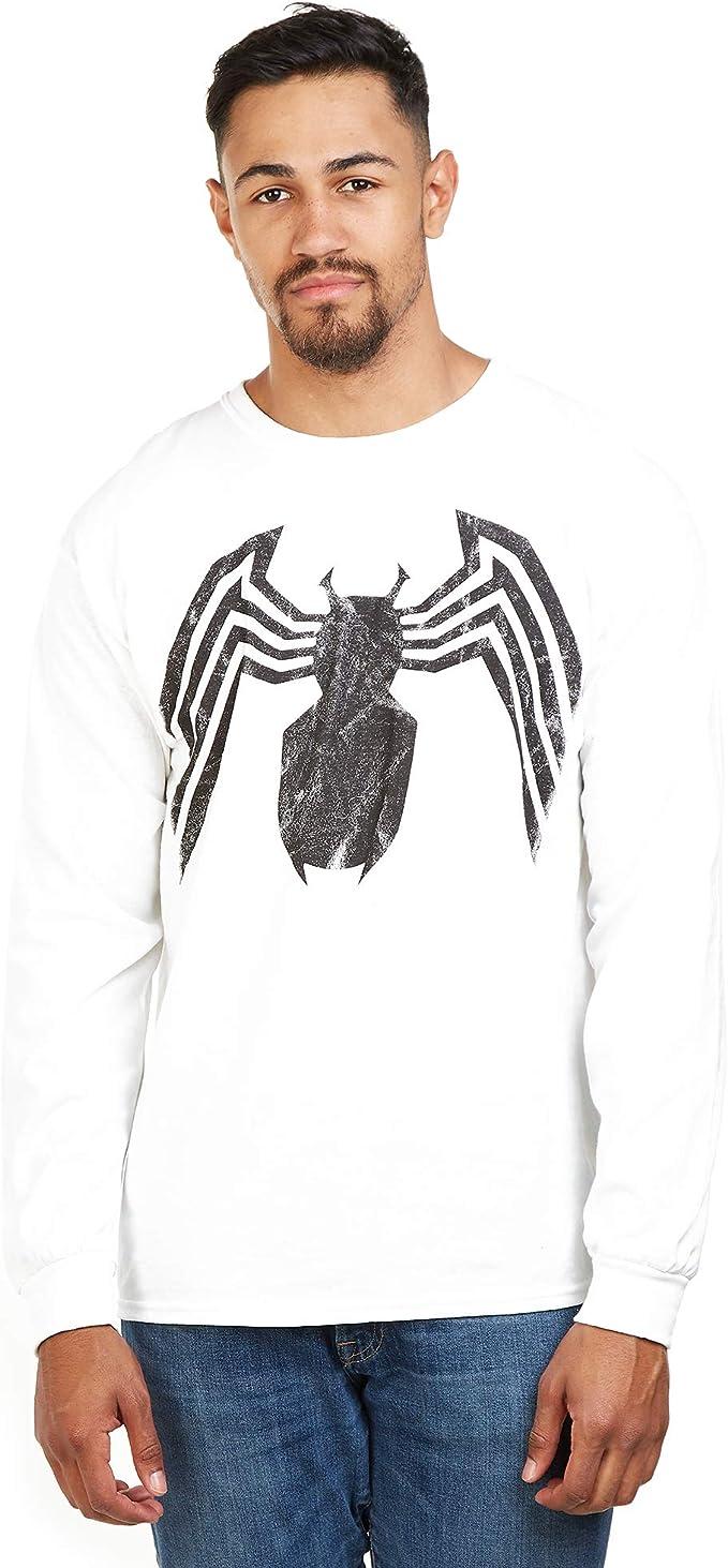 Marvel Avengers Venom Emblem Maglia a Maniche Lunghe Uomo