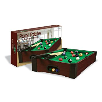 Lovely Tabletop Pool Table Goes Anywhere