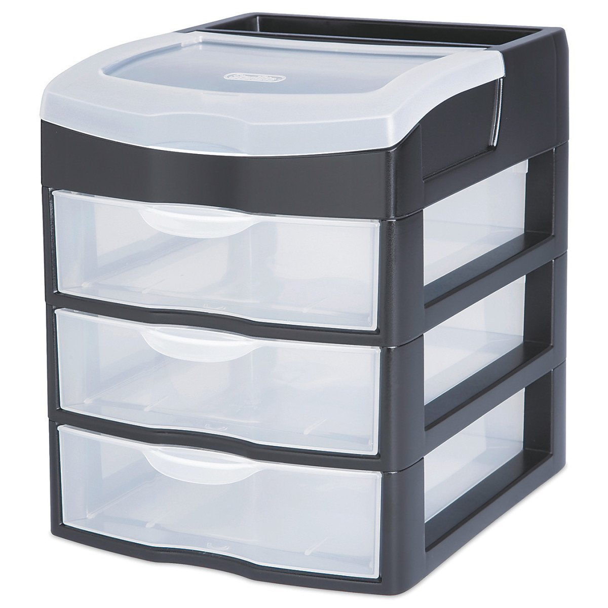 Amazon.com Sterilite 20639004 3 Drawer Clearview Desktop Unit Home u0026 Kitchen  sc 1 st  Amazon.com & Amazon.com: Sterilite 20639004 3 Drawer Clearview Desktop Unit: Home ...