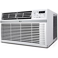 LG 8000 BTU 115V Window Mounted Air Conditioner with Remote Control