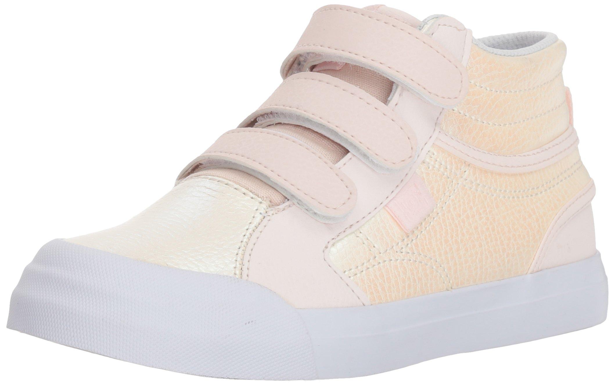 Light Pink Se Skate Us Big V Shoe 4 Evan Hi Girls' Dc Kid 5 M 2YeDWEH9I