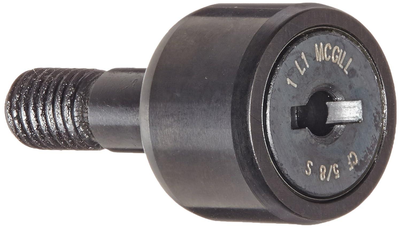 5//8 Roller Diameter Steel 3//4 Stud Length McGill CF5//8S Cam Follower Inch 0.250 Stud Diameter 7//16 Roller Width Sealed//Slotted 1//4 Thread Size Standard Stud 1-7//32 Overall Length