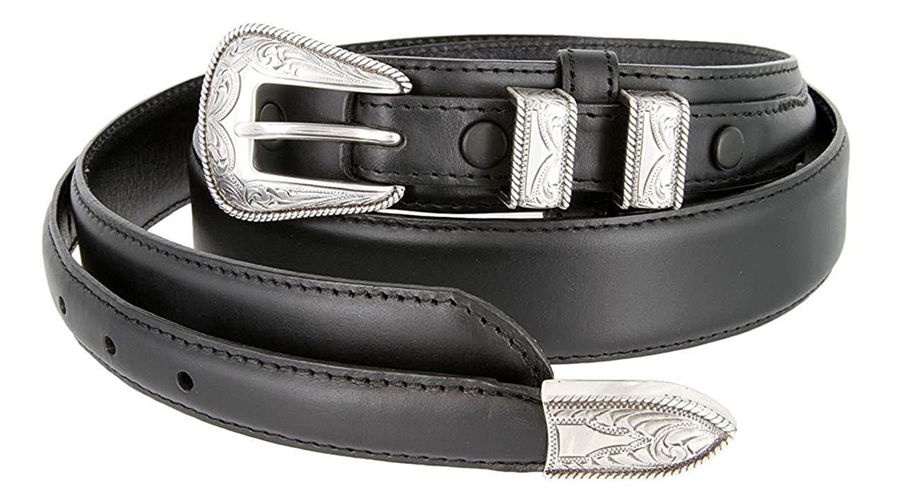 Pele Belt Men 1-3//8 Wide Oil Tanned Smooth Leather Engraved Silver Buckle