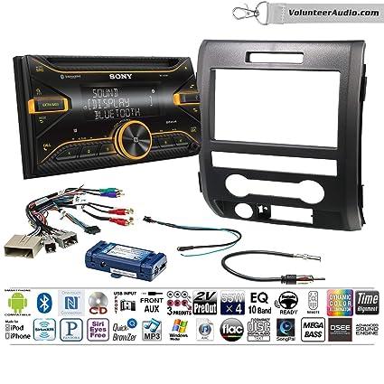 JVC KW-R935BTS DDIN CD Player Car Radio Install Mount Kit Harness Bluetooth