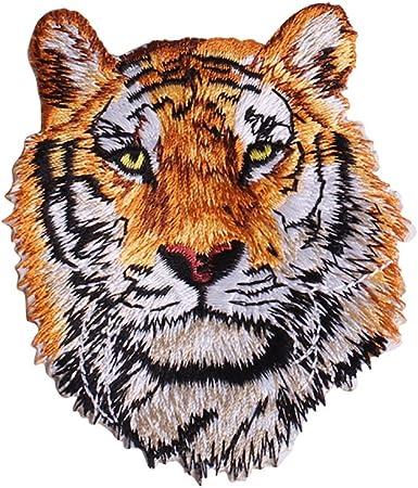 longyitrade Tiger Leon Parche Bordado para Planchar o Coser ...