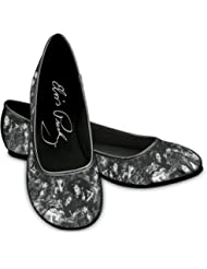 """Elvis Toe-Tappin' Ballet Flats"" Fashionable Shoes For Elvis Presley Fans by The Bradford Exchange"