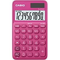 Casio SL-310UC-RD Taschenrechner, 10-stellig, in zehn Farbvarianten