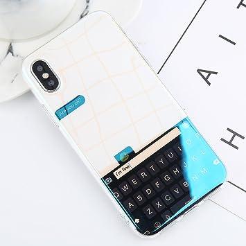 POHONOEO BLU-Ray Starry Sky Imprimir Funda de teléfono Funda para iPhone 6 6s Plus