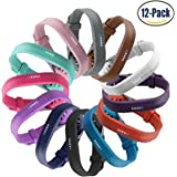 Fitbit Flex 2 Bands, Vetoo Replacement Band with Stainless Steel Buckle and Fastener for Fitbit Flex 2, Adjustable Accessories Bracelet & Strap for Small and Large Wrists