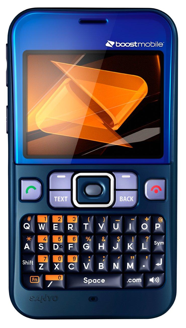 Sanyo Juno Prepaid Phone, Blue (Boost Mobile)