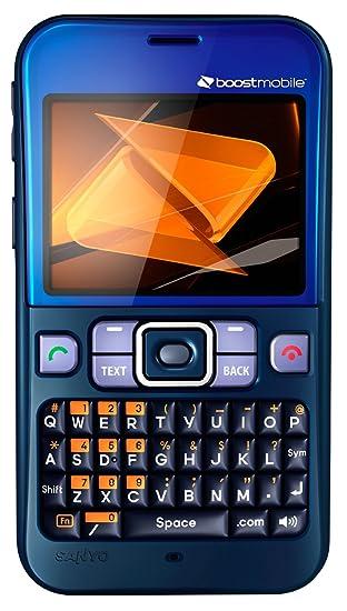 amazon com sanyo juno prepaid phone blue boost mobile cell rh amazon com Boost Mobile Upcoming Phones 2012 Boost Mobile Sanyo Innuendo