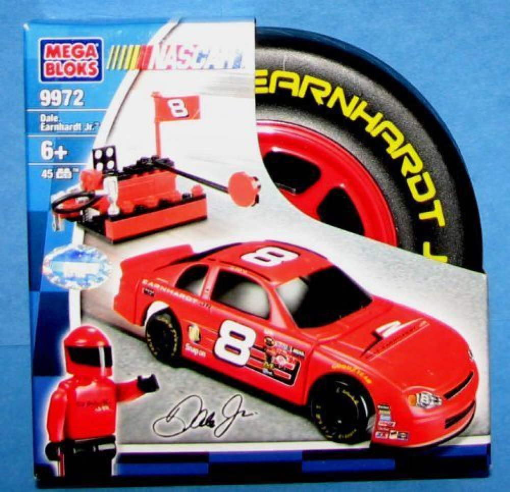 Amazon.com: Nascar Dale Earnhardt Jr Mega Bloks 9972: Toys & Games