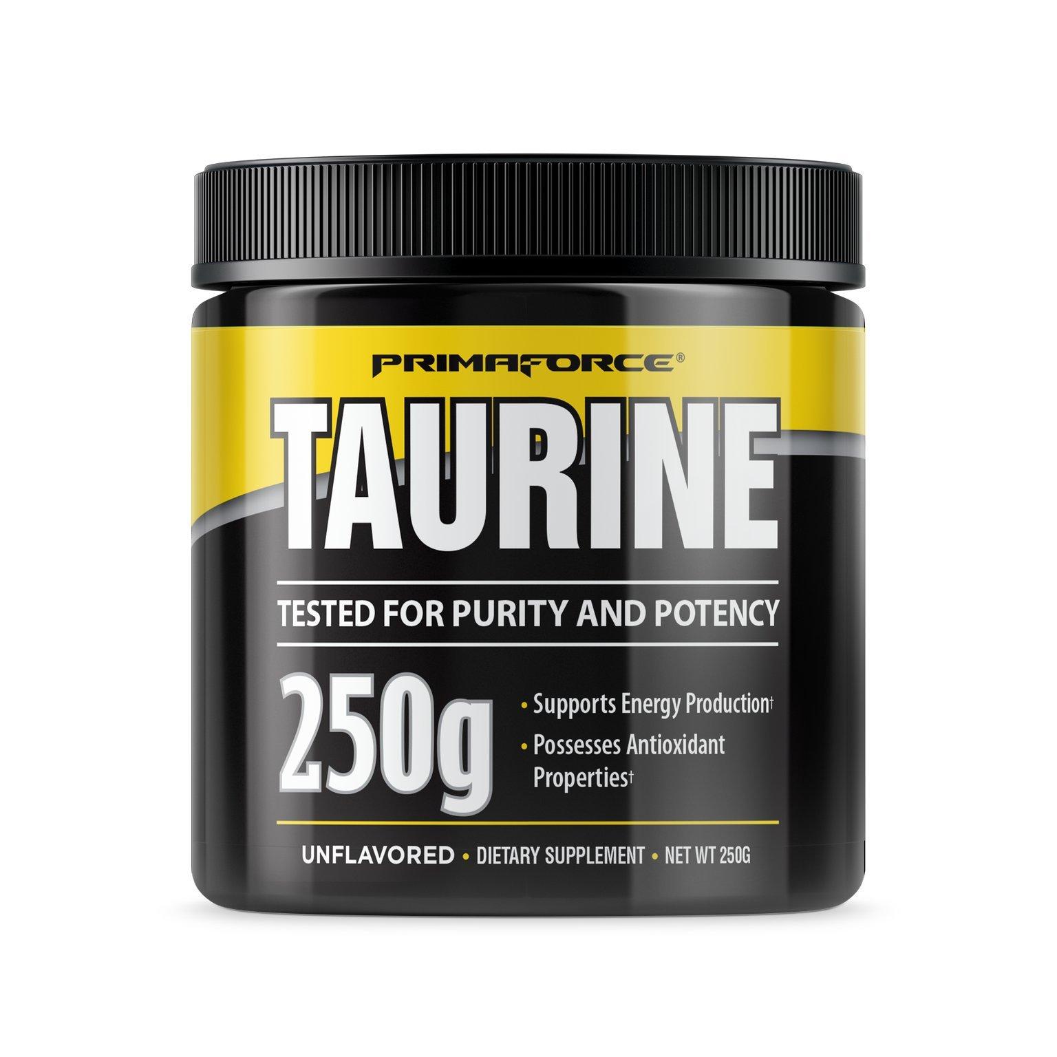 Primaforce, Taurine Powder, Unflavored, 250 Gram
