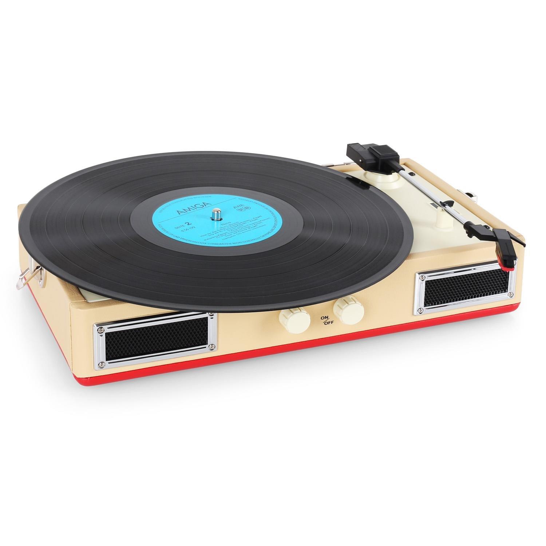 Ricatech RTT33 Altavoz estéreo con tocadiscos: Amazon.es: Electrónica