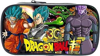 Maneray Pencil Case Dragon Ball Super Z Anime Cosplay Bolsas de Papelería Estuche para lápices Estudiantes Plumier Caso Stationery Pluma Bag: Amazon.es: Iluminación