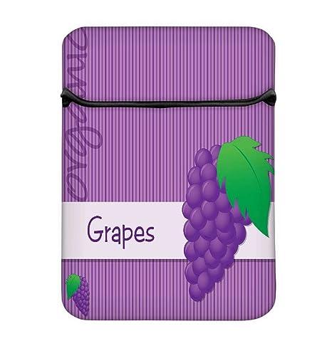 Tarjeta Brillante Orgánica Púrpura Uva En Formato Vectorial ...