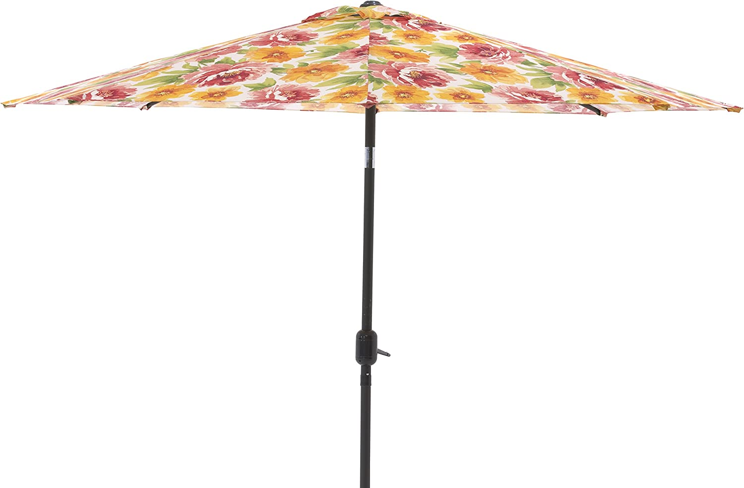 Pillow Perfect Primro Orange 9-foot Patio Market Umbrella