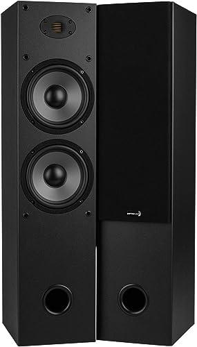 Dayton Audio T652-AIR Dual 6-1 2 2-Way Tower Speaker Pair with AMT Tweeter