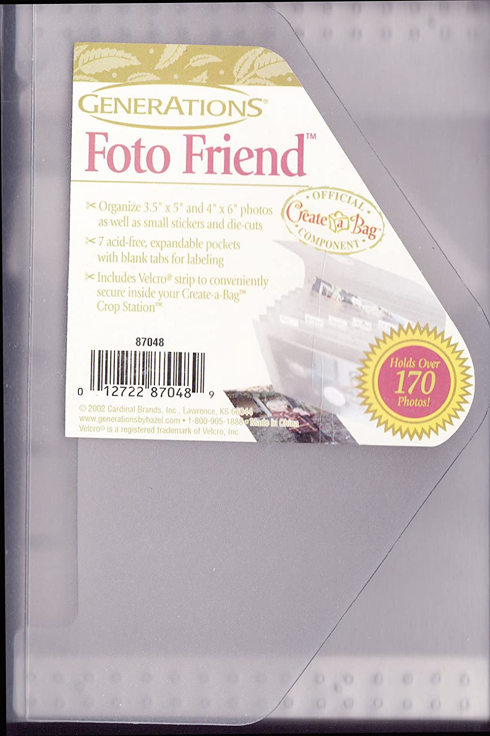 Photos Generations Foto Friend Create-A-Bag Component 87048 Holds 170