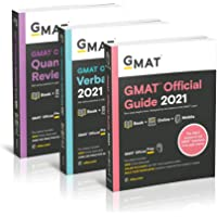 GMAT Official Guide 2021 Bundle: Books + Online Question Bank
