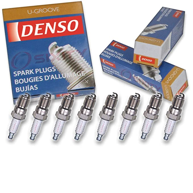 Amazon.com: 8 pcs Denso Standard U-Groove Spark Plugs 1994-2001 Ford Ranger 2.3L 2.5L L4: Automotive