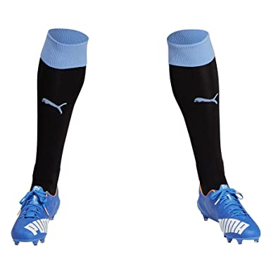 60274af6afcb Puma Mens Gents Football Soccer Uruguay National Team Home Socks 2016 -  Black - 12-14  Amazon.co.uk  Clothing